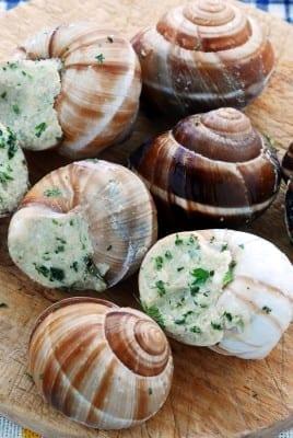 Savoury kougelhof aux escargot
