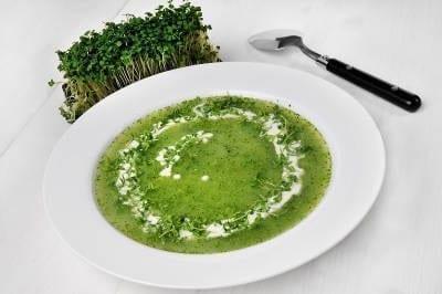 08 – Cream of leek soup